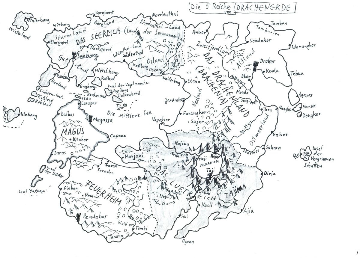 Fantasy Karte.Karten Alfred Bekker Fantasy Krimis Historische Romane