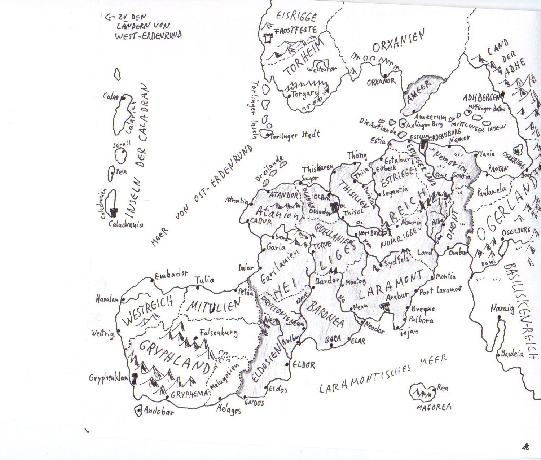 Eragon Karte.Karten Zu Gorian Alfred Bekker Fantasy Krimis Historische